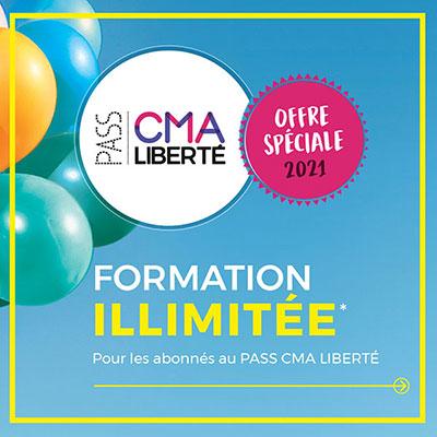 Formation illimitée avec le pass CMA Liberté