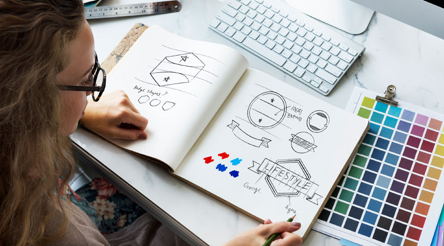 formation creation logo charte graphique communication lyon