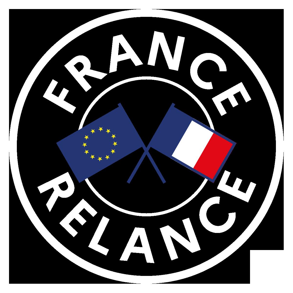 logo France Relance blanc