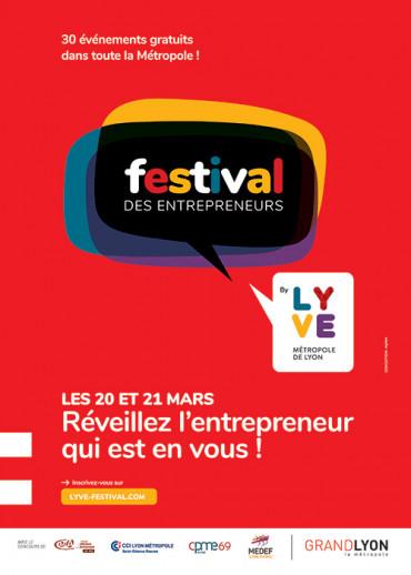 Affiche festival des entrepreneurs Lyon 2019