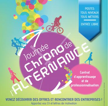 Journée Chrono de l'alternance 2019 à Oullins