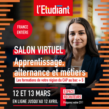Salon virtuel de l'apprentissage 2021