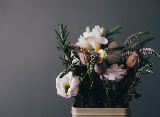 deuil bouquet fleur composition fleuriste funeraire stage formation